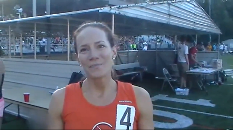 Flotrack interview (Portland race)