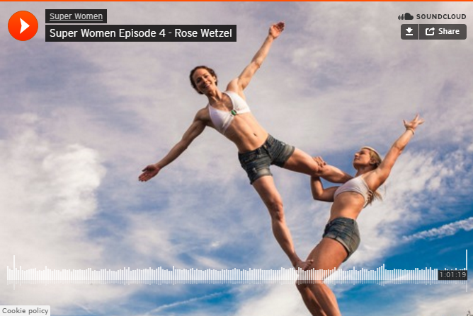 Jessie Graff podcast 8/3/16